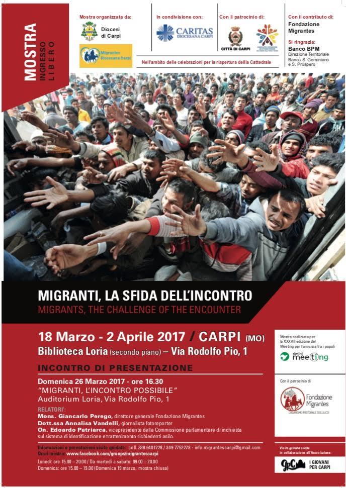 migranti, la sfida dell incontro